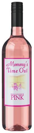 Mommys Time Out Delicious Pink